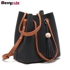 9270abe7c9 Tassel bag shoulder bag messenger bag women leather handbags 2017 women bag     FREE Worldwide