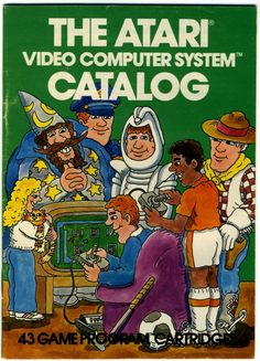 A 1981 Catalog of Atari games I found (the one I have is identical to the one from this website)