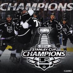 So beautiful Great Stanley Cup series Best celebration ever ! GO KINGS GO