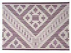 Handmade rectangular wool rug with geometric shapes HYPER - Dare to Rug Dares, Geometric Shapes, Wool Rug, Textiles, Interior Design, Rugs, Handmade, Inspiration, Nest Design