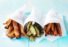 Welcome to my guilt free airfryer vegetable fries recipe.