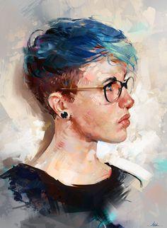 Colour Study, Aaron Griffin on ArtStation at https://www.artstation.com/artwork/AyLrX