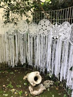 Massive giant 6 piece hoop pure white crochet dream catcher one of a kind creation, Whimsical Dreamcatcher Photo Backdrop, Wall Mural Massive Giants 6 Stück Reifen Pure White Crochet Dream Catcher Dream Catcher Images, Doily Dream Catchers, Macrame Wall Hanging Diy, Crochet Dreamcatcher, Diy Tumblr, Diy Presents, Textile Art, Wall Murals, Backdrops