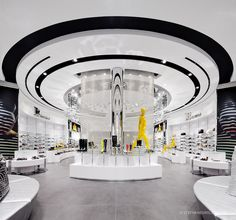 Browns Stephane Groleau 154-2, Futuristic Interior Design, Modern Architecture