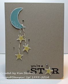 Is It Written In The Stars? - Stampin Up Pictogram Punches.  by Stamping Imperfection