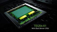 NVIDIA Tegra K1 – mobiler Super-Chip mit 192 Kernen..