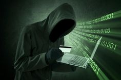 Photo about Internet theft concept - Man holding credit card with laptop on his hand. Image of danger, internet, darkness - 38669627 E Commerce, Apps Fotografia, Internet Segura, Hire A Hacker, Identity Theft Statistics, Snapchat, Identity Protection, Free Advertising, Shopping