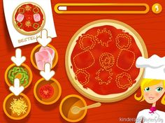 Pizza Factory for Kids | iPad iPhone | Kinder Apps