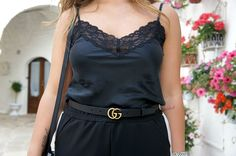 Gucci belt Intimissimi top