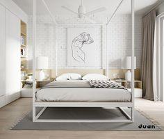 32 Bajeczne łóżka 4 plakatów, które sprawiają niesamowite Bedroom