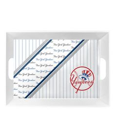 Another great find on #zulily! New York Yankees Serving Tray #zulilyfinds