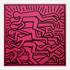 Bodies  by Keith Haring