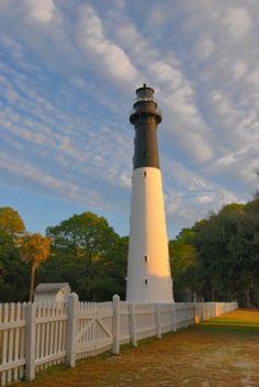Hunting Island Lighthouse - Beaufort County South Carolina SC