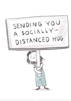 Sending you a socially distanced hug . Hug Quotes, Funny Quotes, Life Quotes, Funny Memes, Funny Sarcasm, Funny Captions, Status Quotes, Crush Quotes, Quotable Quotes