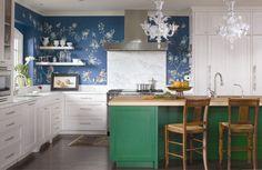 19 cozinhas com papel de parede que vão te surpreender | CASA CLAUDIA