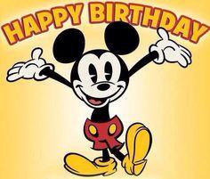 Disney birthday