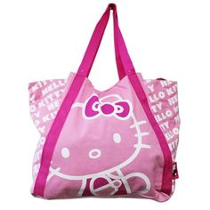 765938ab3 Hello Kitty Light Pink Colored Medium Size Canvas Tote Bag Hello Kitty Purse,  Hello Kitty