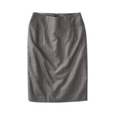 Mossimo® Petites TRS Herringbone Pencil Skirt - Black