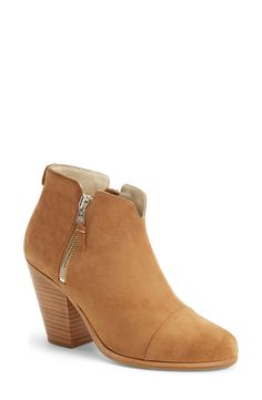 These Rag & Bone booties would look great styled with distressed skinny jeans and a long cardigan.
