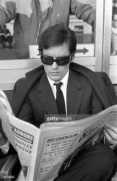 Alain Delon in Rome, 1968 French New Wave, French Man, Romy Schneider, Film Le, Film Movie, Le Clan Des Siciliens, Gentleman Movie, Marcello Mastroianni, Best Photo Poses