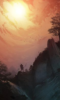 """They are coming"" by Cury #art #illustration #fantasy"