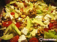 Ízzel-lélekkel készült receptek: Szilvi avokádósalátája Cobb Salad, Meat, Chicken, Food, Beef, Meal, Essen, Hoods, Meals