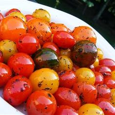 Byrdhouse Blistered Cherry Tomatoes Recipe