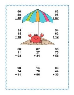 1000+ images about Math on Pinterest | Place Values, Addition And ...