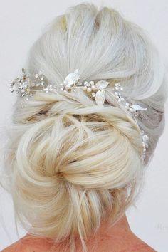 Enchanting Wedding Updos ❤ See more: http://www.weddingforward.com/wedding-updos/ #weddingforward #bride #bridal #wedding