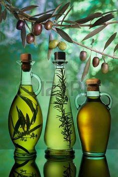 verschillende soorten olijfolie