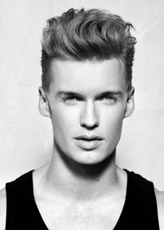 Wavy Quiff Hairstyles For Men 2014 - http://hairstyletrends2014.com/wavy-quiff-hairstyles-for-men-2014.html-%IMG&
