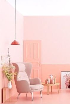 1000 images about pink living rooms on pinterest pink - Adorable iconic furniture design adapts black and white color ...