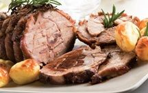 A Very Tasty recipe for roast of veal with potatoes. Great enjoyed with a salad. Roast of Veal With Potatoes Recipe from Grandmothers Kitchen. Kitchen Recipes, Gourmet Recipes, Cooking Recipes, Healthy Recipes, Healthy Foods, Veal Recipes, Potato Recipes, Carne Asada, Fat Burning Foods