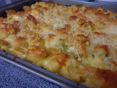 Cheesy Chicken and Noodles recipe