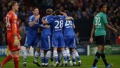 Pertandingan Liga Champions untuk kali ini akan mempertemukan Chelsea vs Schalke yang akan digelar Pada hari Kamis (07/11/2013) Berlangsung Stamford Bridge – London, Inggris dan akan disiarkab LIVE di SCTV Pukul 02:30 WIB.
