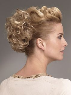 Cute Piece~Raquel Welch Updo Curls Synthetic Hairpiece • Raquel Welch