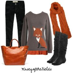 Foxy Lady, created by kaseyofthefields on Polyvore