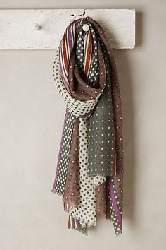 South Seas Dotty Scarf #anthroregistry