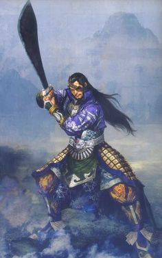 Xiahou Dun Illustration