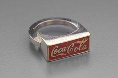 Coca Cola ring   Museum of Fine Arts, Boston, 1967