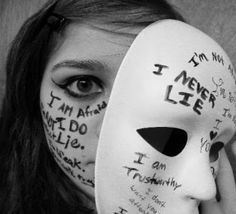 Are you hiding behind a MASK?  Be who you were meant to be!