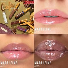 Limited Edition Madeleine Gloss by SeneGence is a subtle mauve gloss with NO shimmer and NO glitter.  Click to purchase yours.  Wear alone or on top of any LipSense LipColor.  #senegence #lipsense #madeleinegloss #cafelipscollection