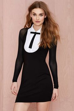 Nasty Gal Atone Collar Dress | Shop Dresses at Nasty Gal