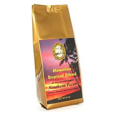 Aloha Island Southern Pecan Flavored Ground Coffee 8oz Bag