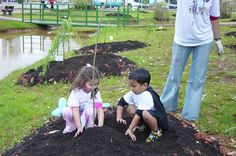 Como atrair as crianças para atividades no jardim?