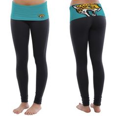 Cozy up at home or hit the gym in your Jacksonville Jaguars leggings.