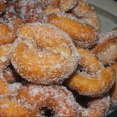 Beignets, Local Festivals, Flan, Onion Rings, Crepes, Biscotti, Doughnut, Nutella, Donuts