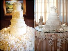 gorgeous cake & cake table!