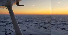 UFO Sightings Hotspot: Bright UFO flying towards Cessna during Flight ove...Яркий объект летевшие навстречу Сессна во время полета над Небраска ...Видео было снято во время полета над пересеченной местностью в Восточной Небраске  11 февраля 2018 года. Видеооператор ничего не заметил во время полета, но глядя  видео, он заметил странный визуальный объект с 00:34 секунды...