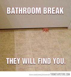 Bathroom Break…